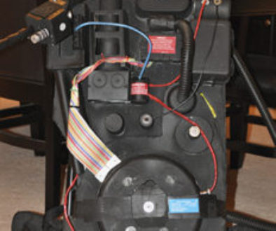 Picture of home made proton pack.